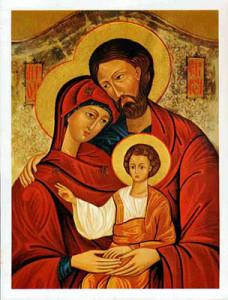 icona russa famiglia